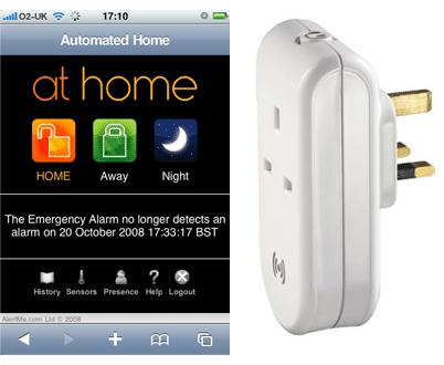 AlertMe lanseaza interfata pentru iPhone